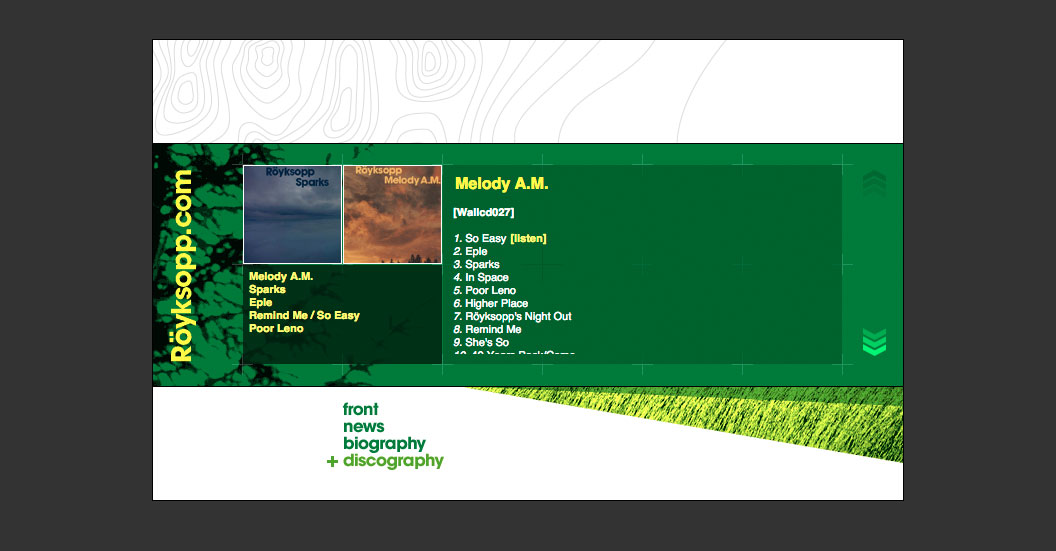 Discography page